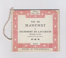 (162B) Collège de pataphysique / Traître Mot / Vie de Mahumet Hildebert Lavardin