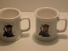 "Rush Limbaugh Two If By Tea ""O Say Can You Tea"" Coffee Mugs Set Of 2"