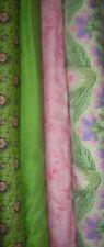 4 YDS Quilt, Sew, Fabric Set Free Spirit Meadow Song, Memory Gardens & Seasonal