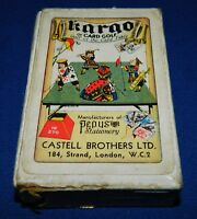 Kargo card table golf game by Castell Brothers/Pepys UK 1940s 100% complete