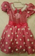 MINNIE MOUSE PINK TODDLER GIRLS COSTUME DISNEY STORE DRESS UP