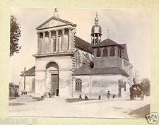 10 Aube . Troyes .photo ancienne vers 1900 . église St-Martin