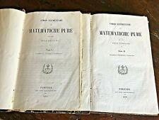 Antonelli G. - Barsanti E. - Corso elementare di matematiche pure - 1856