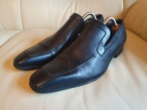 Gucci Mens Shoes Black Leather  UK 7  US 8  EU 41   Vintage