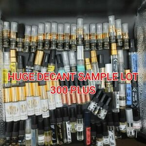 Wholesale  Lot Sample fragrances. Over 300. See pics  and description  for info.