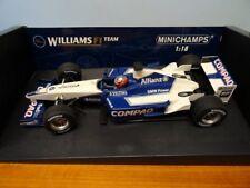 1/18 Williams FW24  Juan Pablo Montoya 2002 F1 Minichamps boxed