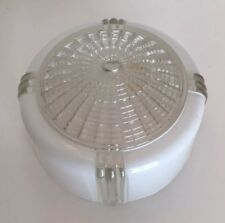 "Vintage Art Deco 6"" Glass Light Shade Globe"