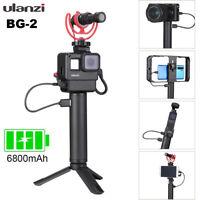 BG2 6800mAh Power Bank Hand Grip Universal For DJI OSMO/GoPro 8 7 6/DSLR Cameras