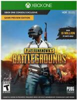 XBox One PlayerUnknown's Battleground Preview Edition PUBG Digital Download Card