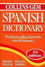 Collins Gem Spanish Dictionary by Harper Collins Publishers, Harper Reference VG