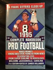The Complete Handbook Of Pro Football 1995 Edition, Football Books Steve Young