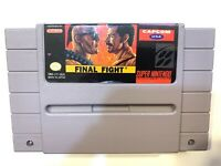 Final Fight Super Nintendo SNES Game - Tested, Working & Authentic!