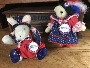 Muffy Vanderbear And Hoppy Vanderhare Yankee Doodle