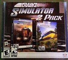 Trainz Simulator 2 Pack (PC, 2013) world builder edition engineer edition NEW