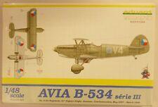 Eduard 1/48 Avia B-534 Series III Fighter Model Kit 8474
