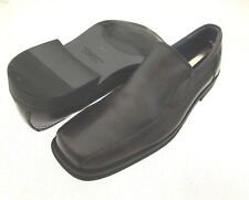 Mark Nason By Skechers Black Leather Upper Slip On Loafers Size 11.5 M