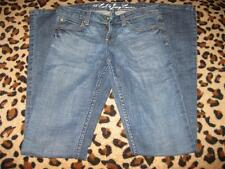 *AUTH* JUICY COUTURE MED DARK WASH BOOT CUT JEANS 26