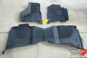 2019-2021 Ram 2500 3500 4500/5500 All Weather Mats For Crew Cab W/Bucket Seats