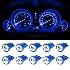 10x Blue T10 194 LED Bulbs Car Instrument Cluster Lights Speedometer Indicator