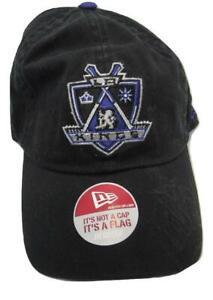 New Los Angeles Kings Mens Size OSFA New Era Adjustable Black Hat