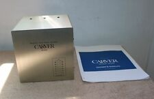 "Carver M-400 Magnetic Field Power Amplifier - Yes, it's ""THE SILVER CUBE!"""