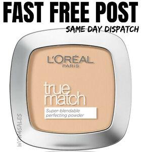 Loreal True Match Super Blendable Face Powder BEIGE 4N Compact