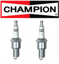 2 PACK NEW Champion 415 RN9YC Copper Spark Plug-Turbo Small Engines- Marine