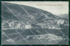 Vicenza Gallio Paese distrutto dagli Austriaci WWI cartolina RB8430