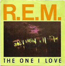 """R.E.M. - The One I Love/Crazy - 7"""" vinyl 45RPM 1987 IRS (IRM 178)"""