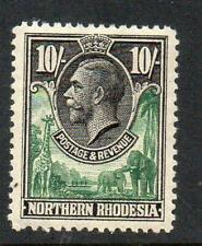 Northern Rhodesia 1925-29 GV 10s MNH SG 16 Cat. £120