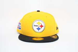 Pittsburgh Steelers Super Bowl XL 40 Antonio Brown New Era 59fifty NFL Sz 7 1/2