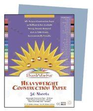 "Sunworks Groundwood Construction Paper - 12"" X 9"" - Sky Blue (PAC7603)"