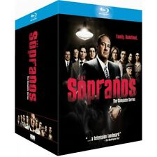 The Sopranos Complete Collection Blu-ray Series Seasons 1 2 3 4 5 6 28 Discs