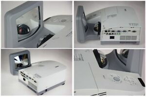 NEC U250X LCD Short Throw 3D Projector 2500 Lumens HDMI