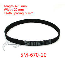 5M-670-20 Drive Transfer Clutch Belt For BladeZ XTR Moby Gas Scooter Powerboards