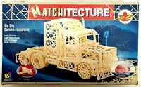 Matchitecture BIG RIG Trailer Truck Matchstick Model Hobby Craft Kit New in Box!