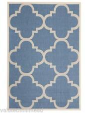 Safavieh CY6243-243-6 200 cm x 290 cm intérieur/extérieur cour bleu/beige tapis