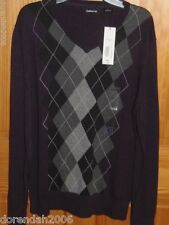 LIZ CLAIBORNE - MENS - SWEATER - BLACK - SIZE SMALL  (BBLK-9-16)