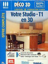 Votre studio-T1 en 3D (NEUF EMBALLE)