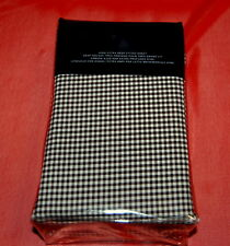 NIB RALPH LAUREN Classic Gingham King Extra Deep Fitted Bed Sheet Brown $185