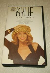 KYLIE MINOGUE - KYLIE THE VIDEOS 2 VHS FORMAT