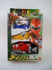 '03 Bandai Japan Sentai Abaranger Brace Morpher MIB Power Rangers Dino Thunder