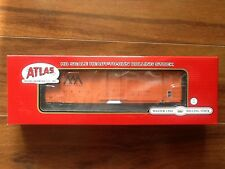 ATLAS 1/87 HO VERMONT RAILWAY FMC 5077 SD BOX CAR ROAD #4112 ITEM # 20002623 NIB