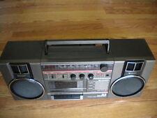 Sharp GF-A1 Portable Stereo System AM/FM Radio Cassette Detachable Speaker Syste