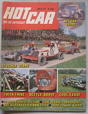 Hot Car magazine 07/1973 featuring Allegro 1750 Sport test