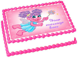 ABBY CADABBY Edible Party Image cake topper party decoration