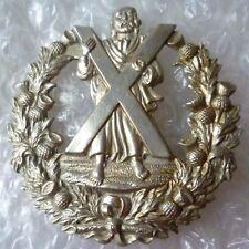 Badge- Queen's Own Cameron Highlanders Regiment Badge (WM,100% Org)
