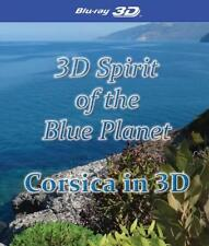3D Spirit Of The Blue Planet - Corsica in 3D (Blu Ray Region Free) *NEW*