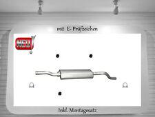 Mittelschalldämpfer Mercedes Viano 2.0 2.2 CDI Auspuff Mitteltopf Montagesatz