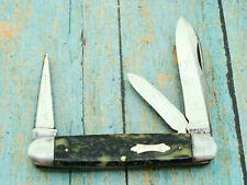 VINTAGE 1936-52 IMPERIAL PROV RI FOLDING EQUAL END CATTLE POCKET KNIFE KNIVES